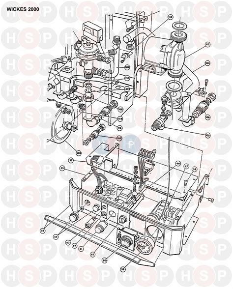 halstead wickes 2000 boiler assembly 5 diagram heating spare parts
