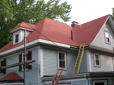 Pics For > Red Roof Shingles