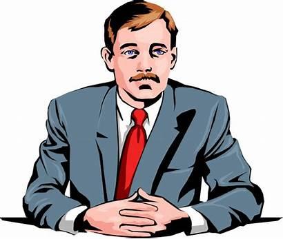 Perusahaan Pemimpin Ceo Animasi Gambar Executive Presiden