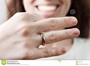 wedding ring on women finger stock photo image 18374750 With wedding ring finger for women