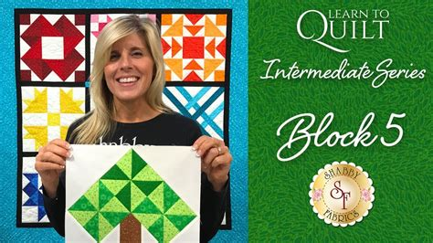 shabby fabrics learn to quilt learn to quilt intermediate block five a shabby fabrics quilting tutorial youtube