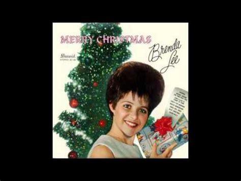 brenda lee christmas song brenda lee the christmas song youtube