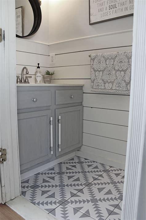 Bathroom Floor Tile Ideas by Kate Spade Glam Bathroom Diy Cement Tile