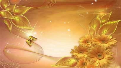 Backgrounds Golden Wallpapers Graphic Psd