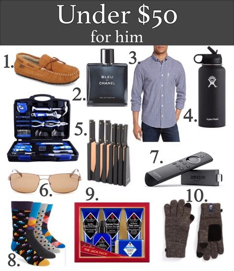 holiday gifts under 50 for him remington avenue