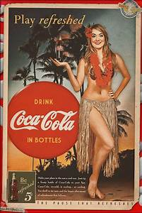 A new Coca-Cola themed pinup today featuring Brie in this ...
