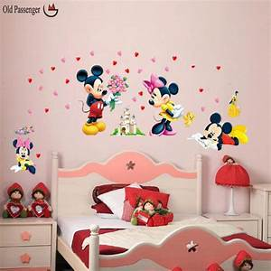 minnie mouse wall stickers peenmediacom With best brand of paint for kitchen cabinets with diy minnie mouse wall art
