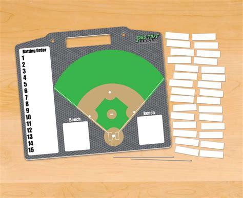 Coachs Helper Dugout Board Pro Tuff Decals Baseball