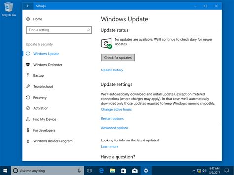 how to upgrade to windows 10 version 1709 fall creators