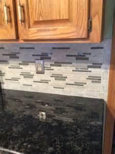 kitchen counter backsplash backsplash floriana from lowes volga blue granite counter kitchen counter