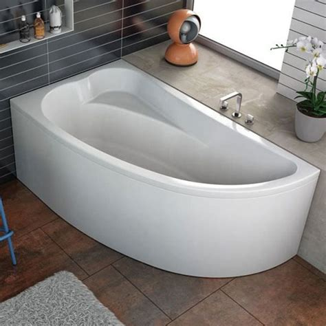 vasche da bagno angolari asimmetriche vasca angolare con parete doccia