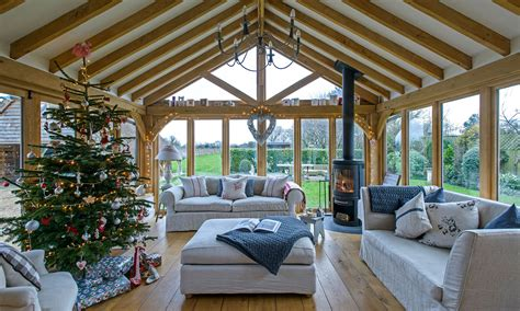 oxfordshire barn conversion  hints  scandi elegance