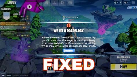 fortnite android  vpn error fixed landing fortnite