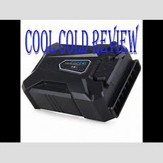 Cool Cold 3 Laptop Cooling System Review  Youtube