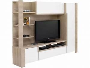 Meuble De Télé Conforama : meuble tv mural lounge meuble tv conforama ~ Teatrodelosmanantiales.com Idées de Décoration