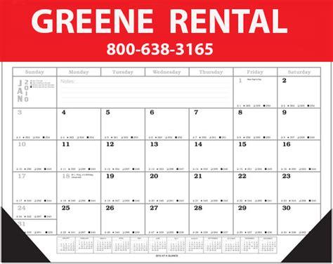 large desk calendar huge monthly affordable corners