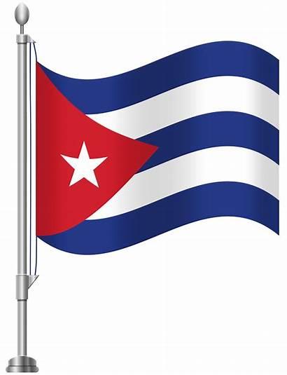 Flag Puerto Cuba Rico Clip Clipart Cuban