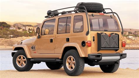 Jeep Dakar by Our 10 Favorite Jeep Concepts Of All Time