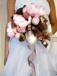 brown pink wedding inspiration images pink
