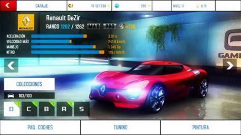 renault dezir asphalt 8 asphalt 8 airborne renault dezir max and pro youtube