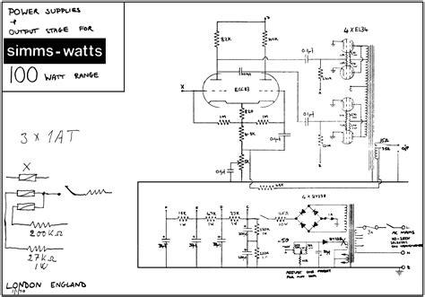 Simms Watts Schematics
