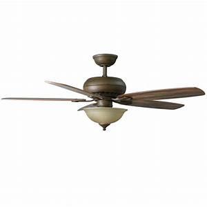Hampton Bay 52371 Southwind 52 In Venetian Bronze Ceiling