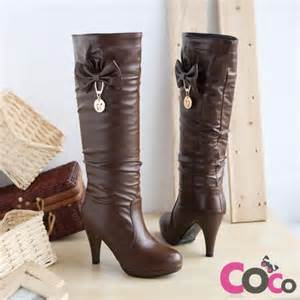 brown leather cute winter boots my style pinterest