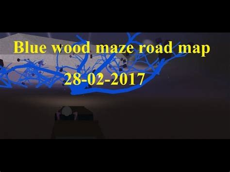 lumber tycoon  blue wood maze road guide map roblox