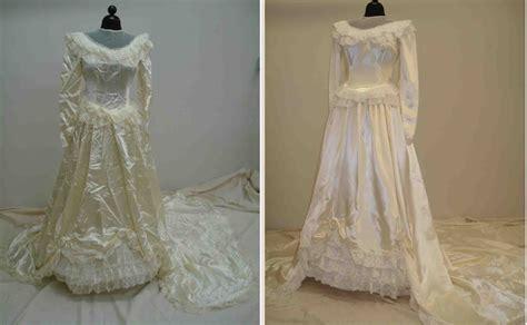 Wedding Dress Restoration
