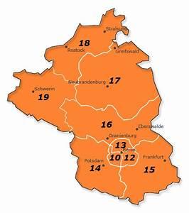 Berlin Plz Karte : plz gebiet 1 deutschland karte und liste aller orte ~ One.caynefoto.club Haus und Dekorationen