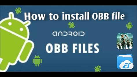 android obb how to install obb file on android mobile apk