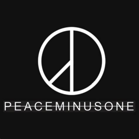 peace minus one gifts merchandise redbubble