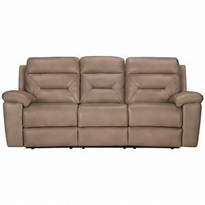 city furniture phoenix dk beige microfiber reclining sofa With microfiber reclining sofa