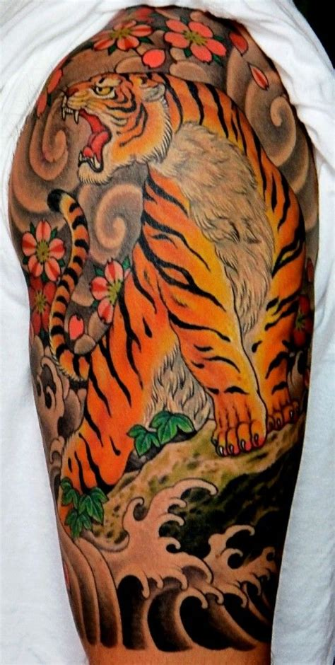 awesome chris garver traditional japanese style tiger