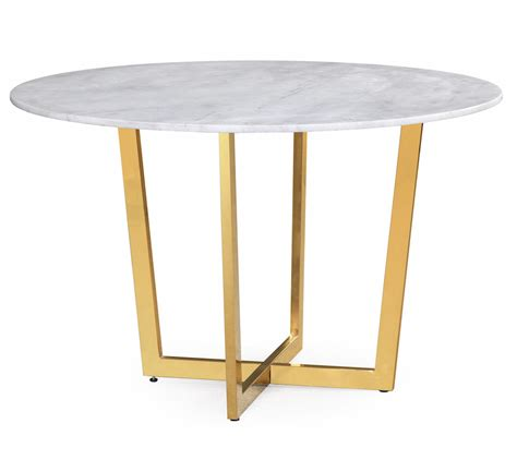10 white marble dining tables you ll adore