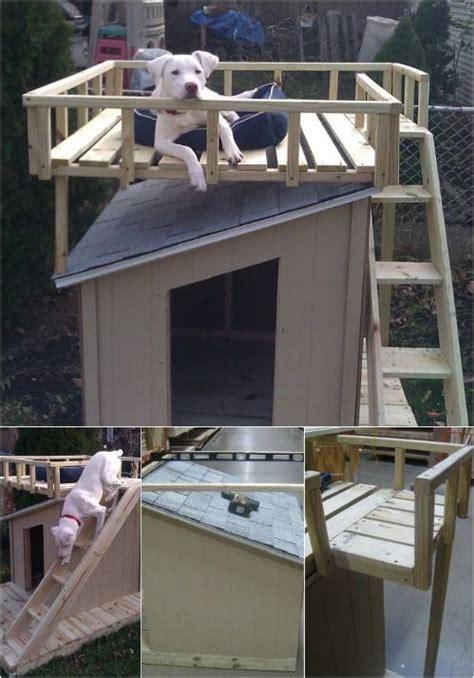 construisez une niche pour chien super originale des idees