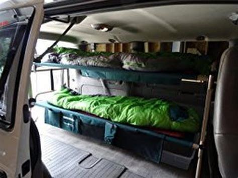 grand awesome bunk beds 569 best cervan conversion chevy astro ideas
