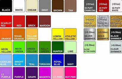 Colors Screen Ink Printing Basic