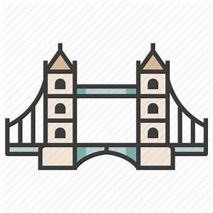 London Bridge Dessin : architecture attraction england landmark london bridge river thames icon ~ Dode.kayakingforconservation.com Idées de Décoration