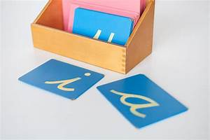 sandpaper letters montessorium With sandpaper letters