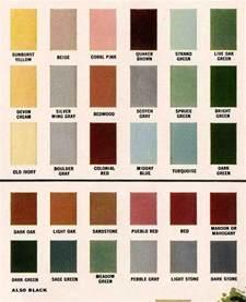 home interior color schemes gallery exterior colors for 1960 houses retro renovation