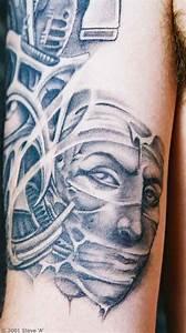 65+ Scary Mummy Tattoos