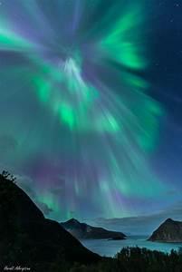 Corona auroral sobre Noruega | Imagen astronomía diaria ...