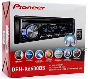 Pioneer Dehx6600bs Cd Player With Usbbluetooth And Mixtrax