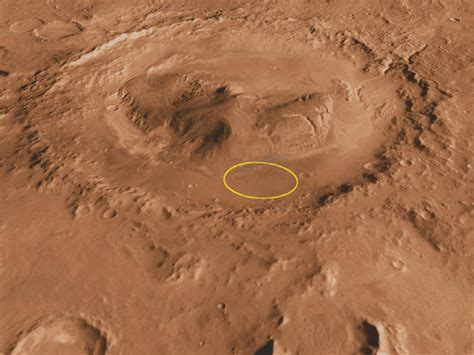 Curiosity Rover's First Destination On Mars
