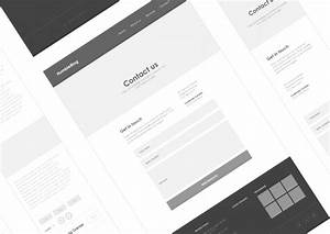 axure responsive template blog website 1 With axure tablet template
