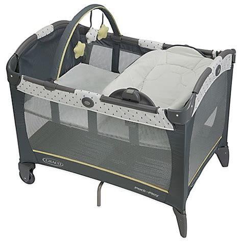mattress for pack n play graco 174 pack n play 174 playard with reversible napper