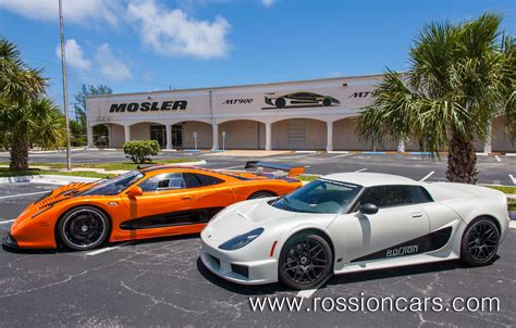 american supercar brands rossion  mosler merged
