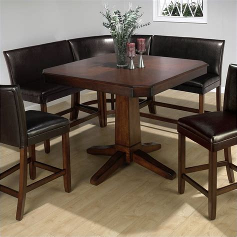 Kitchen Banquette Ideas - corner bench kitchen table set a kitchen and dining nook homesfeed