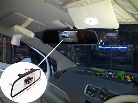 Led Spion Mobil By Nuansa Auto tv spion mobil spion kamera mundur universal layar 4 3